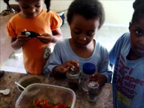 Children in the Kitchen: Fresh Salsa!