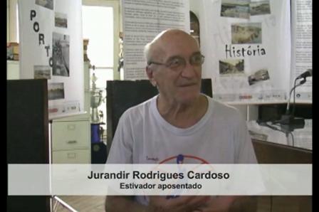 Entrevista com o Sr. Jurandir Rodrigues Cardoso - Estivador Aposentado