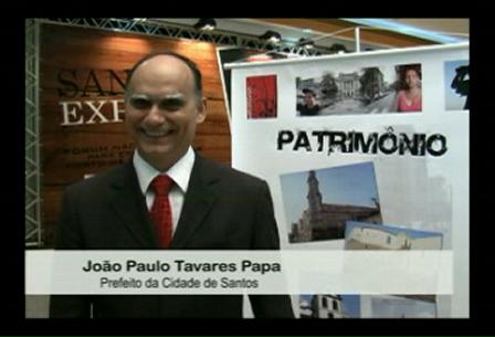 Entrevista com o Sr. João Paulo Tavares Papa - Prefeito de Santos
