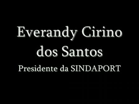 Depoimento com o Sr. Everandy Cirino dos Santos - Abertura