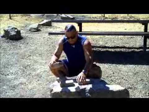 SOKE GRANDMASTER IRVING SOTO/ BREAKING CINDER BLOCK WITH THE /FIST MARTIAL ARTS