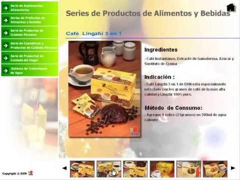 DXN Productos ; Catalogo de Productos DXN 1