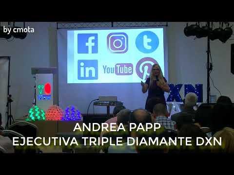 Conferencia Andrea Papp III Aniversario DXN Spain