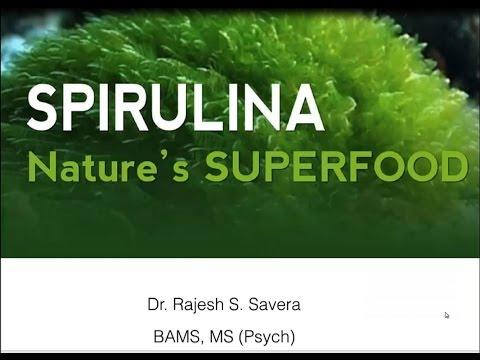 Webinar Dr Savera sobre la Espirulina