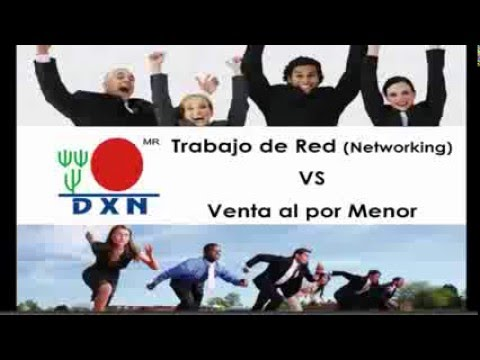 Trabajo de Red vs Venta al por Menor  Conny Navia Diamante Corona DXN