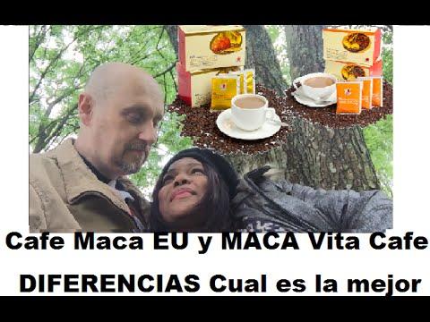 DXN Cafe Maca EU y MACA Vita Cafe DIFERENCIAS Cual es la mejor