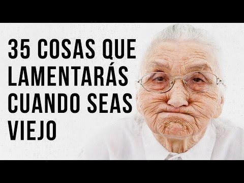 35 Cosas Que Lamentarás Cuando Seas Viejo