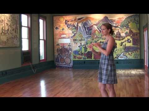 Mollie B. teaches the Polka Hop