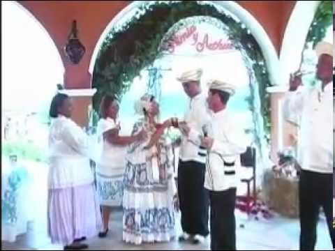 Boda Típica Cristiana de Panamá - Arthur y Nimia (Itzela) James