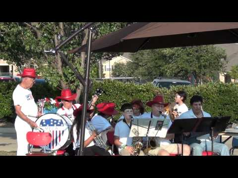 Korean War Veterans Ceremony video 1 MECCA band plays patriotic music