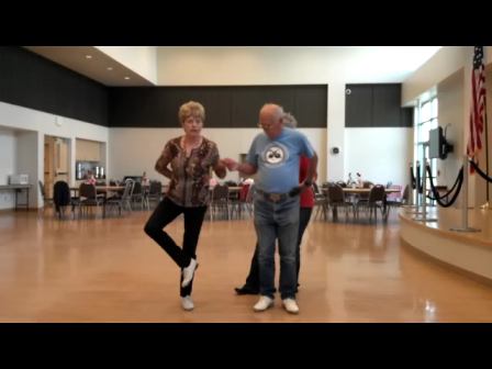 Clogging steps and choreography for Cotton Eyed Joe
