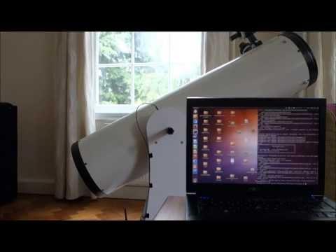 Telescope + Raspberry Pi + Stellarium = iTelescope