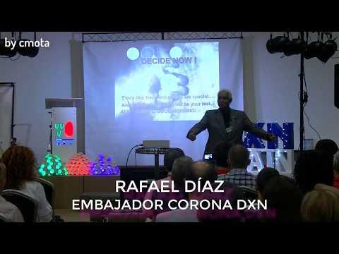 """Conferencia de Rafael Díaz """"Embajador Corona DXN"""" en el III Aniversario de DXN Spain"""