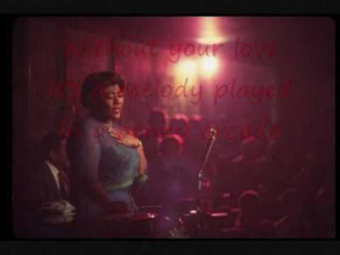 "Ella Fitzgerald, ""It's Only a Paper Moon"""