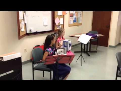 The Engstrom Sisters perform at Senior Care Center, Stanardsville, VA