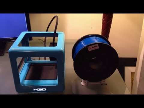 The Micro 3D printer M3D -- How to load and remove filament externally.
