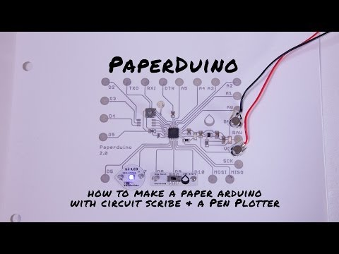 Paperduino: How to Print a Paper Arduino