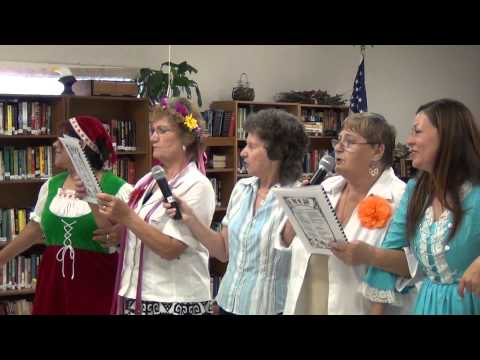 Octoberfest program at the Gilmore Senior Center in Killeen, Texas/Schunkelwalzwer Music