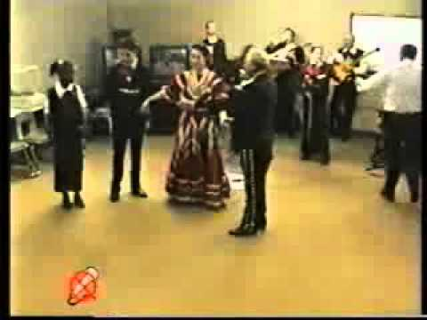 A video conference with a Cinco de Mayo program