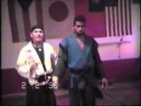 Soke Grandmaster Irving  Soto & Hanshi David Soto Demo New York city Dojo 1996
