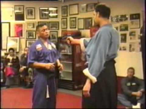 SOKE GRANDMASTER IRVING SOTO  AT THE USA ATEMI KI DO DOJO IN SAN DIEGO.wmv