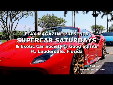 FLAX Magazine presents SUPERCAR SATURDAYS