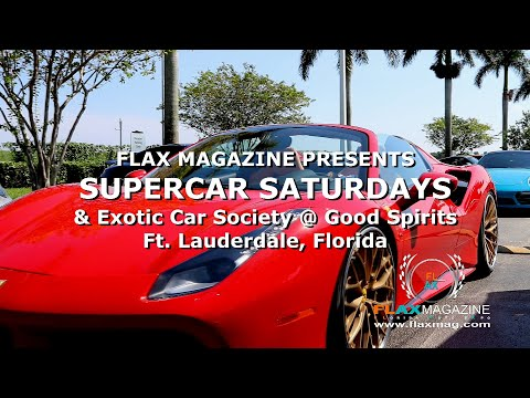 FLAX Magazine presents SUPERCAR SATURDAYS