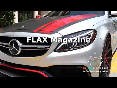FLAX Magazine at SuperCar Week's Father's Day Car Show CityPlace Palm Beach