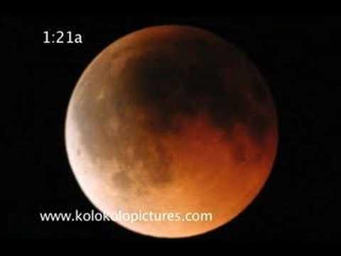 Lunar Eclipse - August 28, 2007 Hawaii