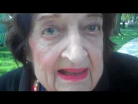 "Helen Thomas, ""tell them to get the hell out of Palestine"""