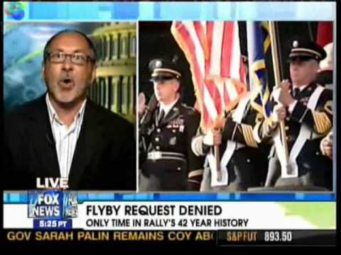 42 Yr old God and Country Flyby Cancelled