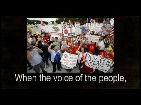 When  the voice of the people will at last be heard.