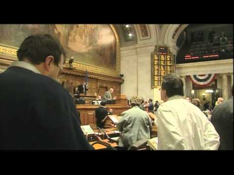 UNCUT:  Assembly Calls Vote & Passes Budget Repair Bill