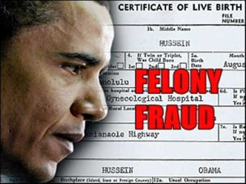 Major General Paul Vallely: FBI Covering For Obama's Birth Certificate Fraud - 6/15/11
