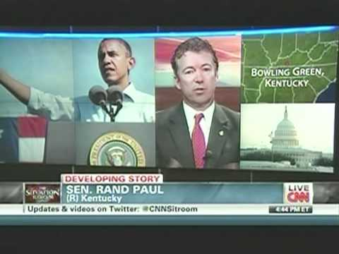 Rand Paul Interview With Wolf Blitzer, Slams Newt & Trump 12/09/11