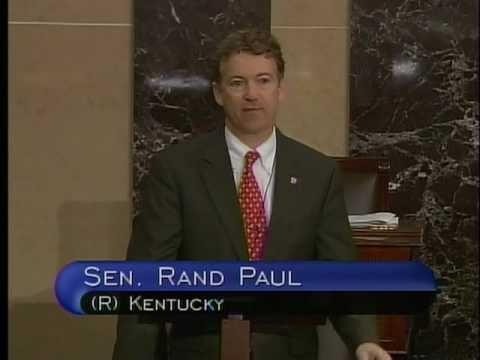 03/30/11: Sen. Rand Paul Takes Senate Floor and Speaks on Libya