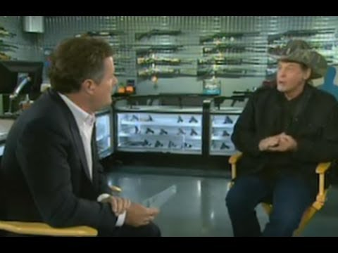 Ted Nugent Attacks Piers Morgan For His 'Obsession' With Guns: 'Will You Leave Us The Hell Alone?