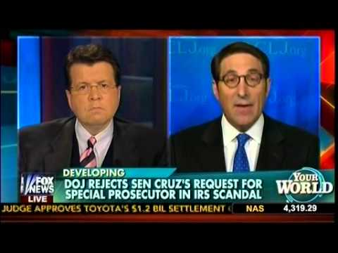DOJ Rejects Sen Ted Cruz's Request For Special Prosecutor In IRS Scandal - Cavuto