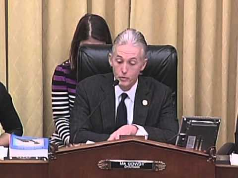 Rep. Gowdy's Opening Statement in Hearing on Administration's Libya Policy