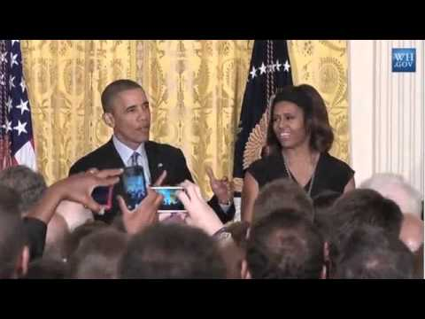 Obama Jokes White House Pastry Chef Put Crack In His Pie