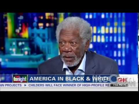 Morgan Freeman to Don Lemon - Income Inequality Has Nothing to Do With Race - 6-4-14 - CNN