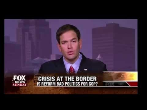 Chris Wallace Grills Marco Rubio on Immigration: If Not Political, Why Did You Flip ?