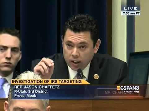 "Chaffetz asks IRS Commissioner: ""Are you going to comply with subpoena?"""