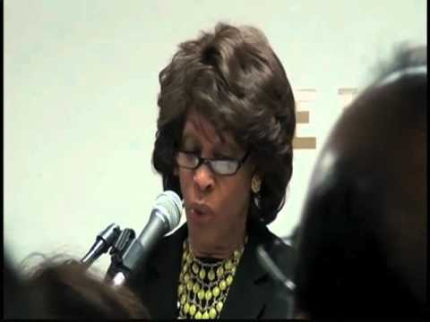 Insanity! Maxine Waters defends What Law?
