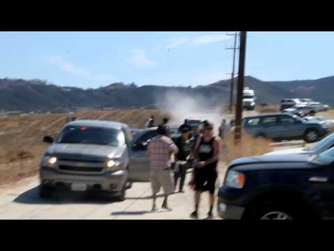 Riot at Illegal-Immigration Protest in Murrieta