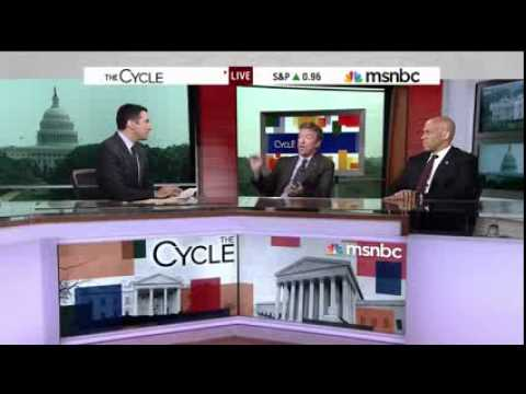 Rand Paul Blasts MSNBC for 'Misrepresenting' His Viewpoint Right on MSNBC