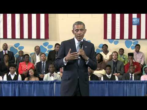 "Obama to Black Youth: Nothing Wrong with ""Acting White"""