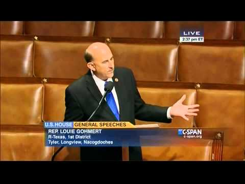 Rep Louis Gohmert 'out's' Obama's Homeland Security Advisor