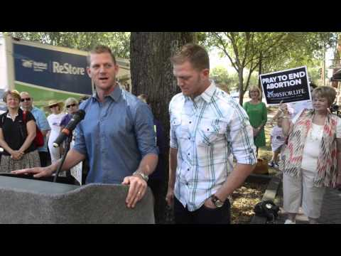 Benham Brothers Challenge Sen. Kay Hagan at Pro-life Rally
