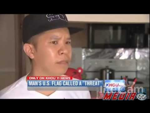Texas Man Says He Was Told His American Flag is a Threat to Muslims - Duy Tran